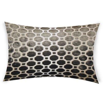 Ogata Velvet Lumbar Pillow Color: Terrain