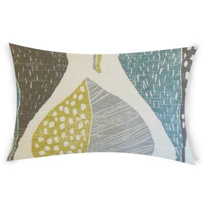 Ogren Cotton Lumbar Pillow Color: Blue