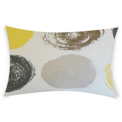 Columba Cotton Throw Pillow Color: Yellow