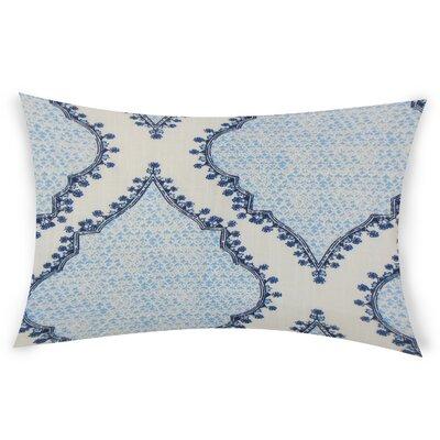 Esposito Cotton Lumbar Pillow Color: Blue