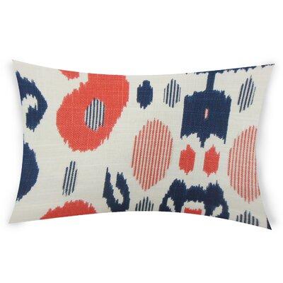Goodson Cotton Lumbar Pillow Color: Blue