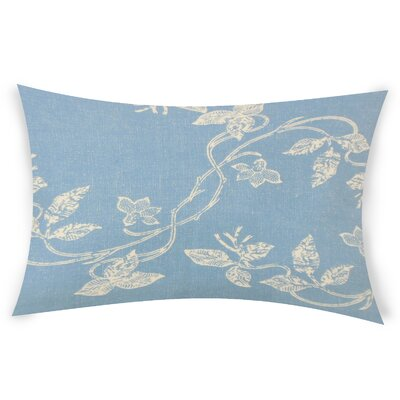 Gilliam Cotton Throw Pillow Color: Blue