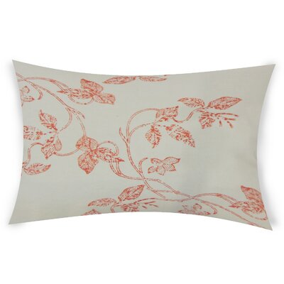 Gilliam Cotton Throw Pillow Color: Red