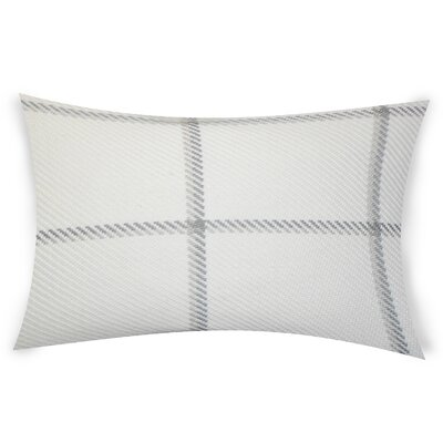 Comerford Cotton Lumbar Pillow Color: Gray