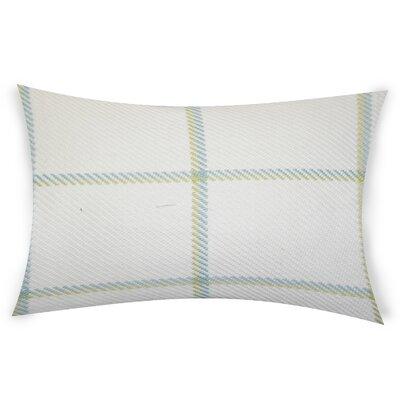Comerford Cotton Lumbar Pillow Color: Green