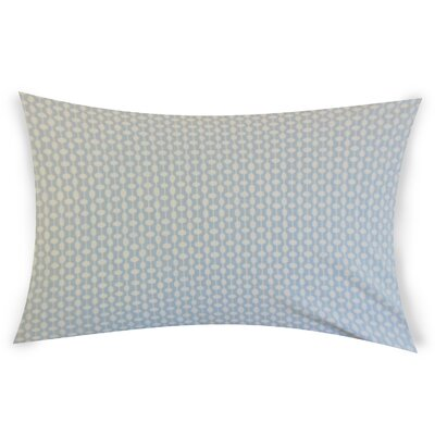 Estey Cotton Lumbar Pillow Color: Blue
