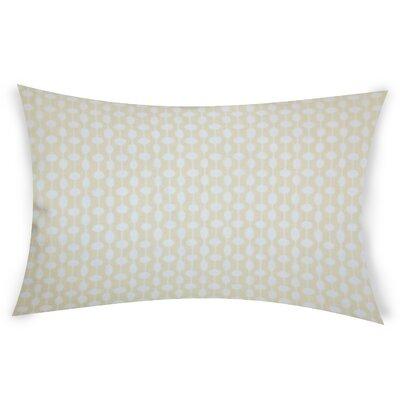 Estey Cotton Lumbar Pillow Color: Beige