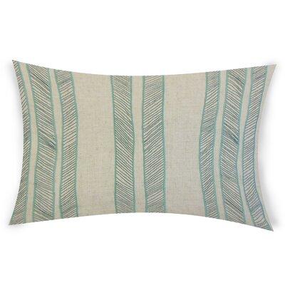 Graceland Lumbar Pillow Color: Aqua Blue