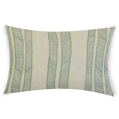 Graceland Lumbar Pillow Color: Green