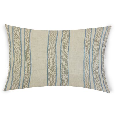 Graceland Lumbar Pillow Color: Blue