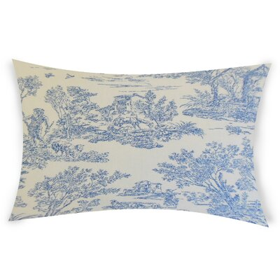 Nempnett Thrubwell Cotton Throw Pillow Color: Blue