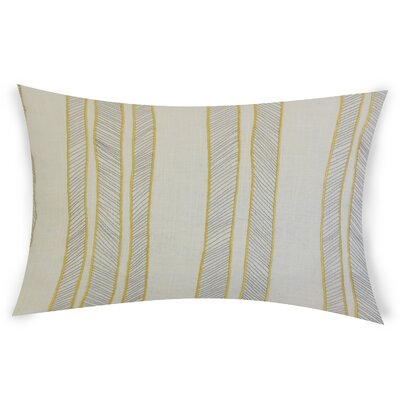 Graceland Lumbar Pillow Color: Yellow