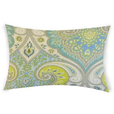 Erdman Linen Lumbar Pillow Color: Light Blue