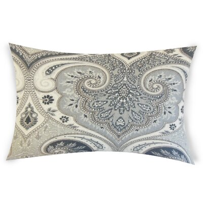 Erdman Linen Lumbar Pillow Color: Black