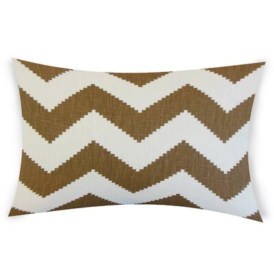 Colosimo Linen Lumbar Pillow Color: Brown