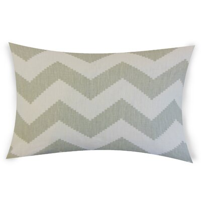 Colosimo Linen Lumbar Pillow Color: Gray