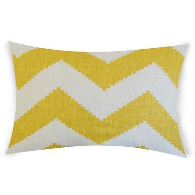 Colosimo Linen Lumbar Pillow Color: Yellow