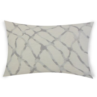 Oberle Linen Lumbar Pillow Color: White