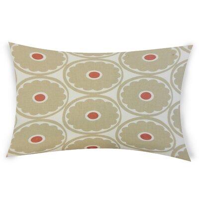 Gosson Lumbar Pillow Color: Brown