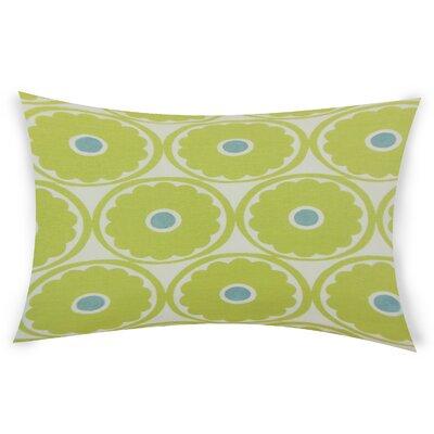 Gosson Lumbar Pillow Color: Green