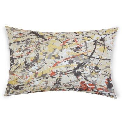 Oberlin Cotton Lumbar Pillow Color: Brown