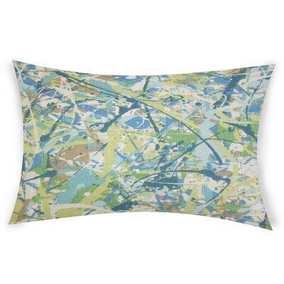 Oberlin Cotton Lumbar Pillow Color: Green
