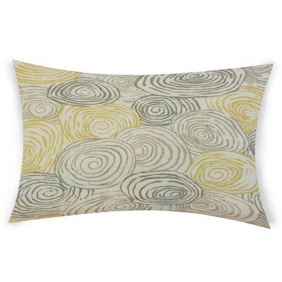 Oberry Linen Lumbar Pillow Color: Light Green