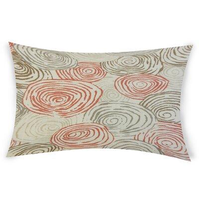 Oberry Linen Lumbar Pillow Color: Pink