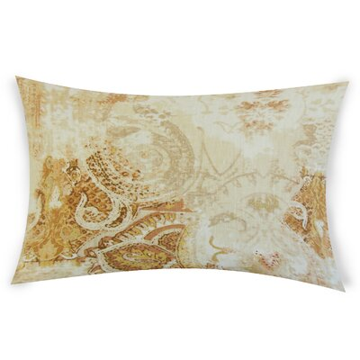 Glenavy Linen Throw Pillow Color: Orange