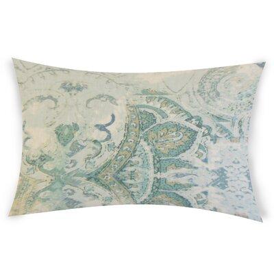 Glenavy Linen Throw Pillow Color: Blue