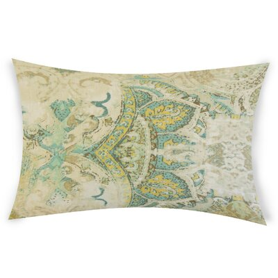 Glenavy Linen Throw Pillow Color: Green
