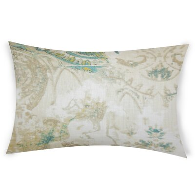 Glenavy Linen Throw Pillow Color: White