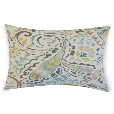 Gleneagles Linen Throw Pillow Color: Pink/Green