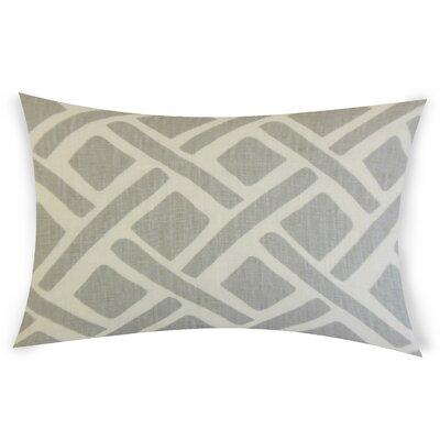 Erlandson Linen Lumbar Pillow Color: Gray
