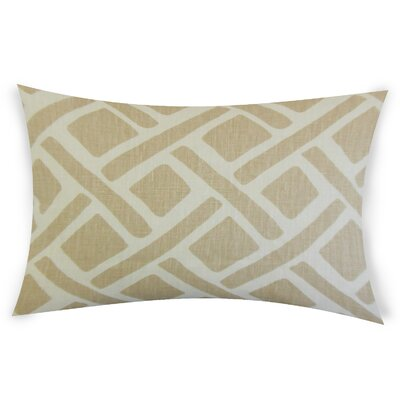 Erlandson Linen Lumbar Pillow Color: beige
