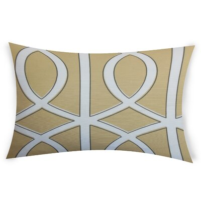 Escarcega Lumbar Pillow Color: Beige