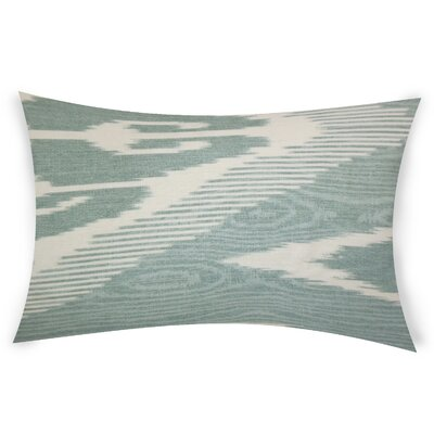 Glenoe Linen Lumbar Pillow Color: Gray