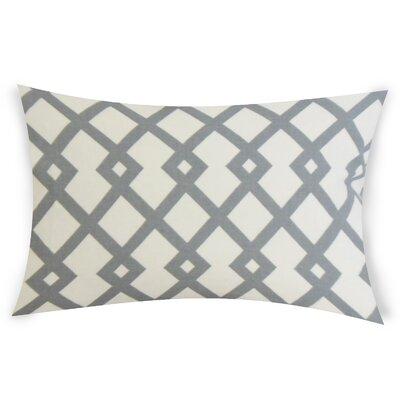 Escobar Cotton Lumbar Pillow Color: Gray