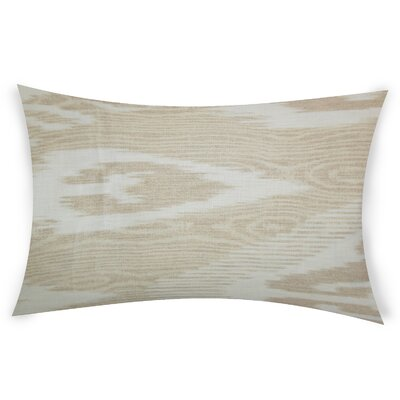 Glenoe Linen Lumbar Pillow Color: Beige