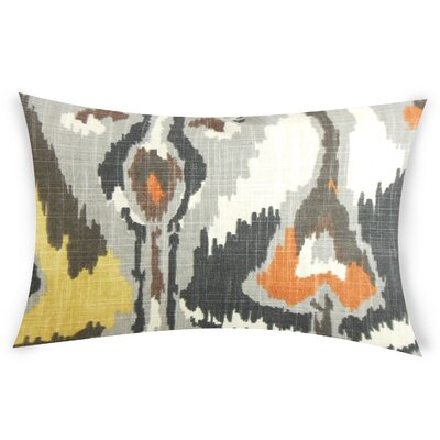 Glynn Cotton Lumbar Pillow Color: Gray