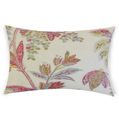 Esteban Line Lumbar Pillow Color: Pink