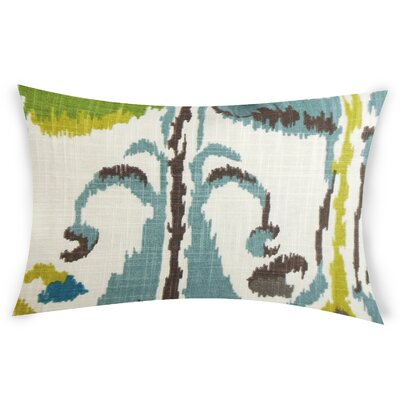 Glynn Cotton Lumbar Pillow Color: Light Blue
