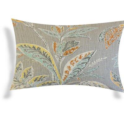 Esteban Line Lumbar Pillow Color: Gray