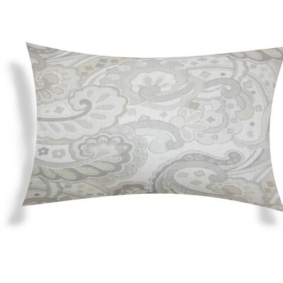 Eduardo Linen Lumbar Pillow Color: Gray