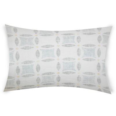 Estep Linen Lumbar Pillow Color: White