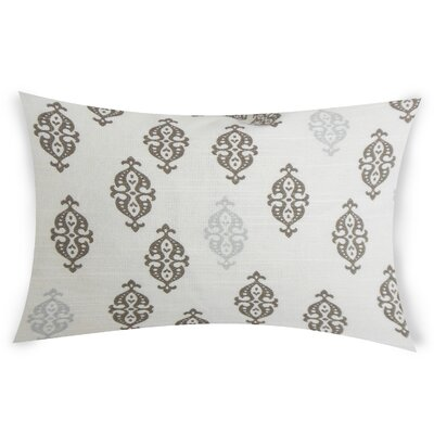Oconnell Cotton Throw Pillow Color: Gray