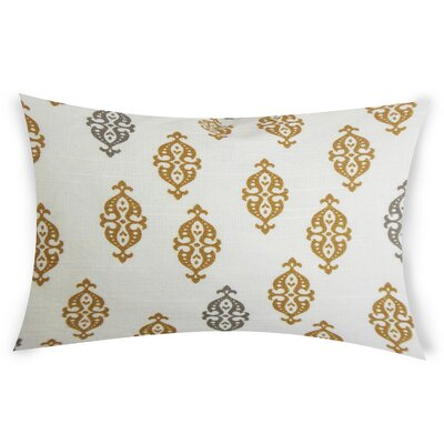 Oconnell Cotton Throw Pillow Color: Beige