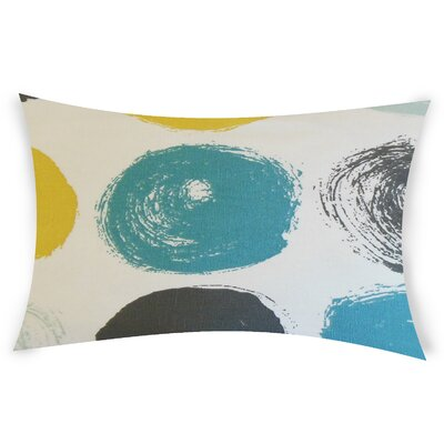 Columba Cotton Throw Pillow Color: Turquoise