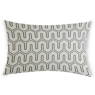 Oehler Cotton Throw Pillow Color: White