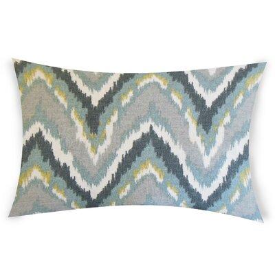 Oestreich Cotton Lumbar  Pillow Color: Gray